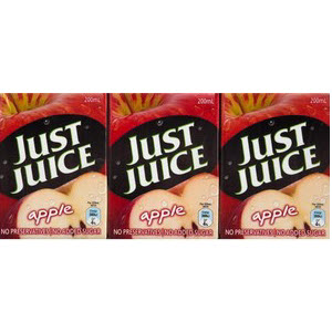 Apple Juice Popper 4 X 6 Packs 200ml