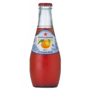 Aranciata Rossa Glass Bottle 24 X 200ml
