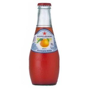 Aranciata Rossa Glass Bottle 24 X 200ml