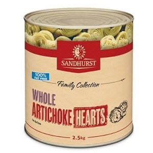 Artichoke Hearts In Brine A9 Spanish 103809
