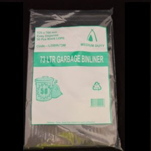 Bags Garbage Budget 73L 250s