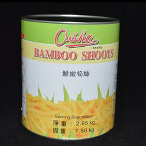 Bamboo Shoots Strips 101706