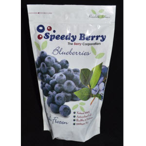 Blueberries Frozen 1kg A Grade