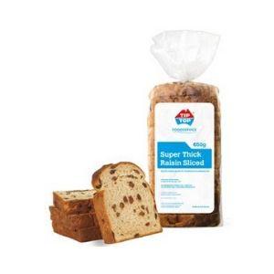 Bread Raisin Thick Sliced 650g