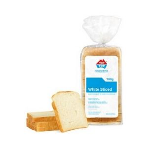 Bread White Sliced 700g