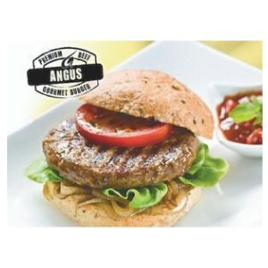 Burgers Angus Beef 54 X 150g Par Cooked