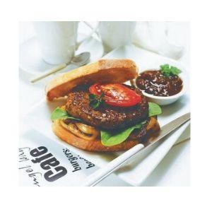 Burgers Beef 45 X 180g Par Cooked