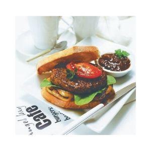 Burgers Beef 63 X 100g Par Cooked