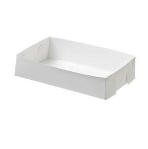 Cake Tray Small White Cardboard 200s 100675