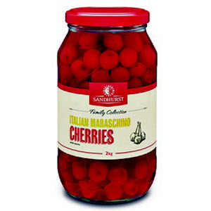 Cherries Maraschino Red 2kg 100483