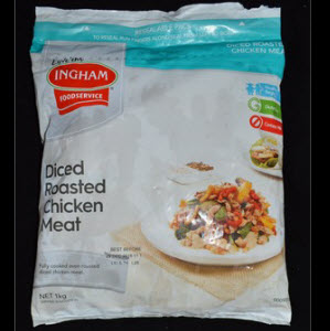 Chicken Meat Diced Roasted 101387