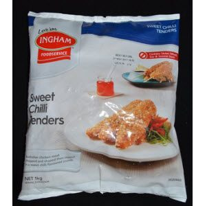 Chicken Sweet Chilli Tenders 1kg 100576