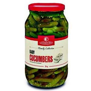 Cornichon Baby Cucumber 2kg 105165
