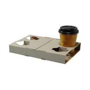 Drink Tray Cardboard 4 Coffee Cups 100s