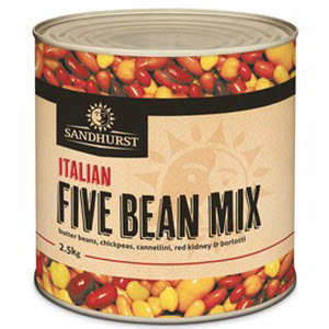 Five Bean Mix 6 X 2.5kg 103455
