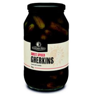 Gherkins Whole 2kg 104280