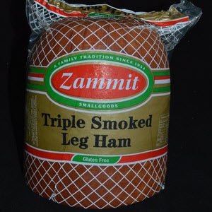 Ham Leg Triple Smoked Approximately GF 3kg