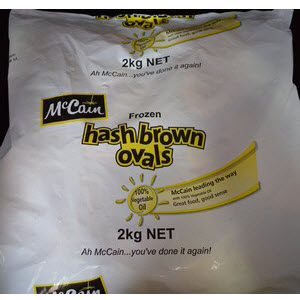 Hash Brown Special Ovals 101614