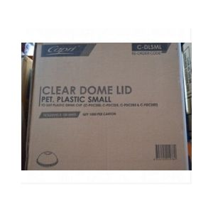 Lid Dome Small Cups 100s For 225