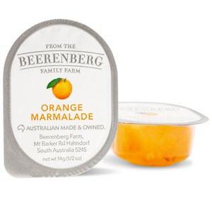 Marmalade Jam Orange Portion Control 48 X 14g