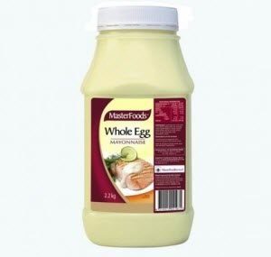 Mayonnaise Whole Egg 100012