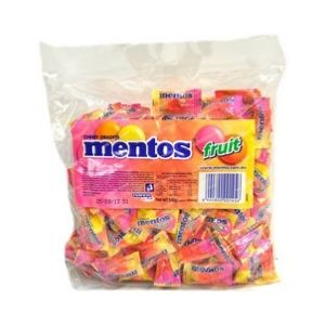 Mentos Fruit Individually Wrapped 200s