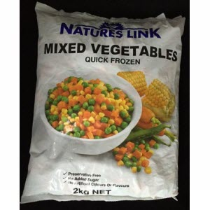 Mixed Vegetables Frozen 2kg