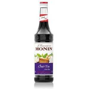 Monin Chai Tea Syrup 100637