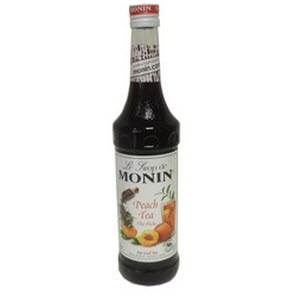 Monin Peach Tea Syrup 101277