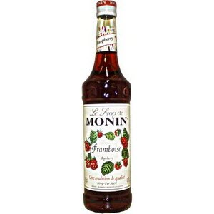 Monin Raspberry Tea Syrup 100105