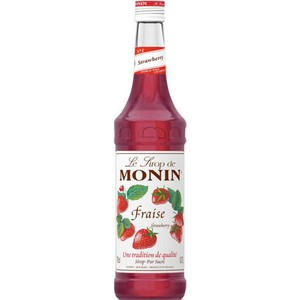 Monin Strawberry Syrup 100344