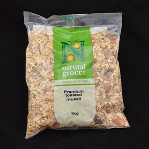 Muesli Toasted Fruit & Nut 101753