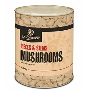 Mushroom Pieces & Stems 2.84kg 100872