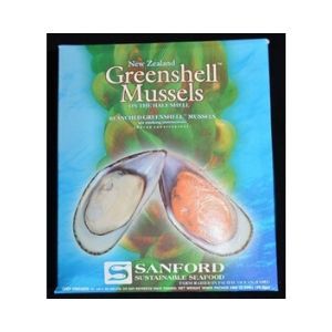Mussels Half Shell Medium 1kg IQF