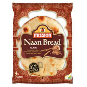 Naan Bread Plain 105264
