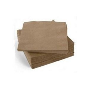 Napkins Cocktail Brown Recycled 1Ply 2,000s