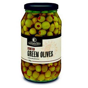 Olives Green Stuffed 1.9kg 101442