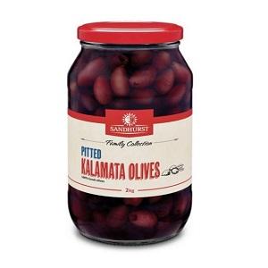Olives Kalamata Pitted 2kg 101534 2