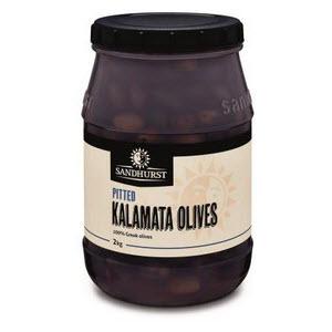 Olives Kalamata Pitted 2kg 101534
