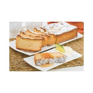 Orange Almond Loaf Sliced GF 1.2k
