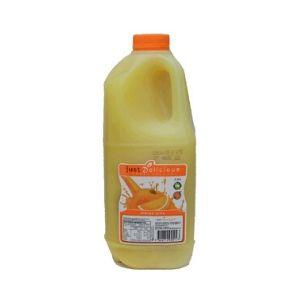 Orange Juice Fresh Plastic Bottle 2L