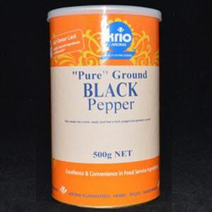 Pepper Black Ground Canister 500g