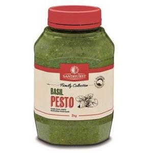Pesto Sauce Basil Jar 2kg 101338