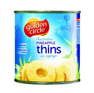 Pineapple Sliced Thins 100078