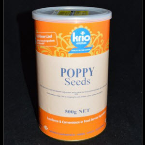Poppy Seeds Canister 500g
