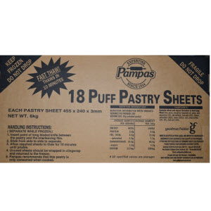 Puff Pastry Sheets 103485 2