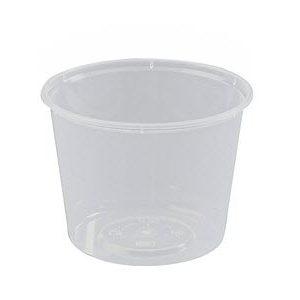 Round Container Plastic 25oz 50s