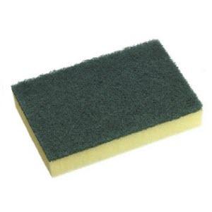 Scourer Sponge Yellow & Green 102934