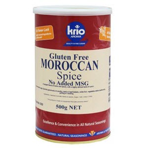 Seasoning Moroccan GF 500g Canister