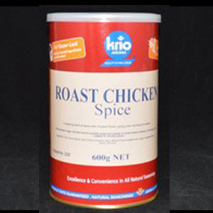 Seasoning Roast Chicken Canister 600g